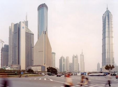 Mezzotint Zielske - Pudong VII, Shanghai