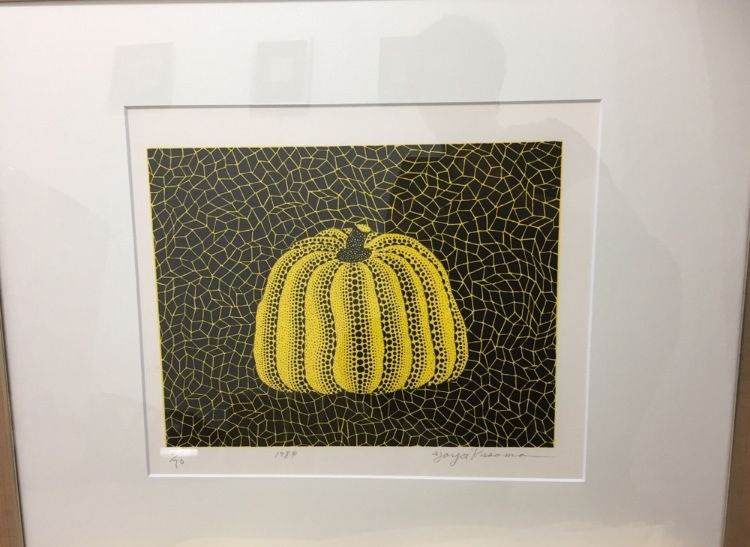 Литография Kusama - Pumpkin