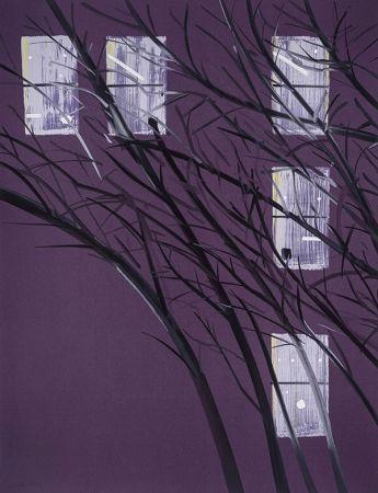 Сериграфия Katz - Purple Wind
