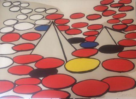 Литография Calder - Pyramides