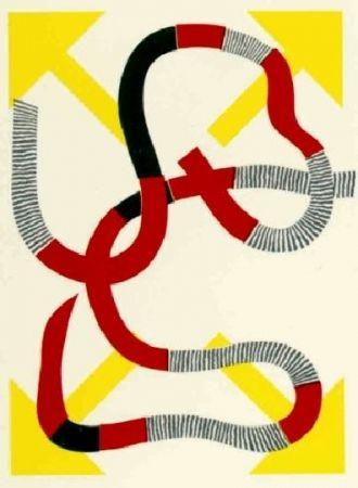 Литография Sugai - Quatre flèches