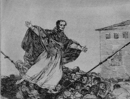 Офорт И Аквитанта Goya - Que rompe al cueda