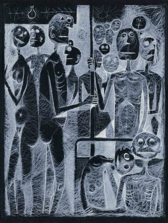 Иллюстрированная Книга Prassinos - QUENEAU (Raymond). L'Instant fatal.