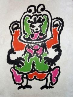 Литография Lapicque - Quetzalcoalt