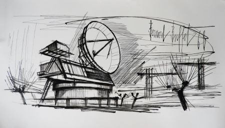 Литография Buffet - Radar Station, Siemens