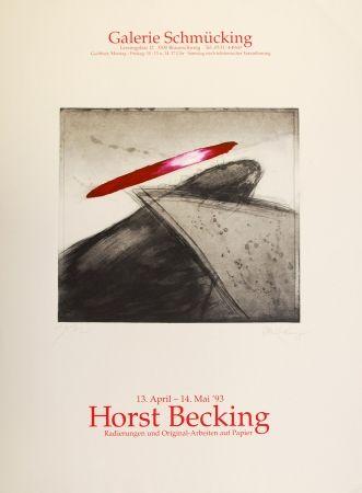 Офорт И Аквитанта Becking - Radierungen und Original-Arbeiten auf Papier