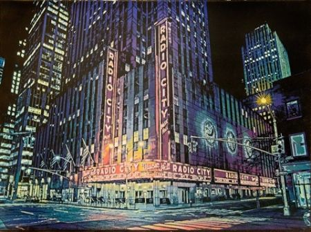 Трафарет Hicks - Radio City Music Hall