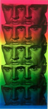 Монотип English - Rainbow Elvis II