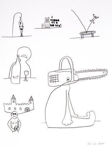 Литография Breuning  - Random thoughts about life 10