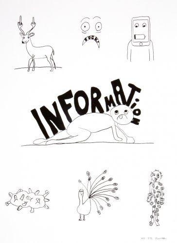 Литография Breuning  - Random thoughts about life 6