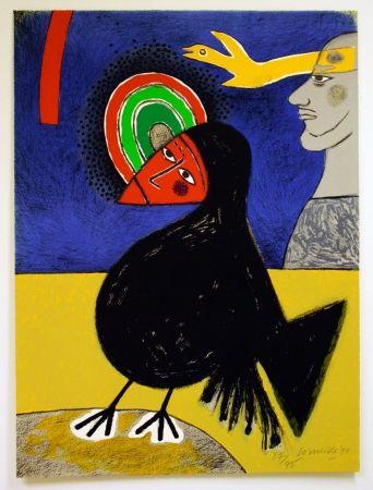 Литография Corneille - Raven no. 3