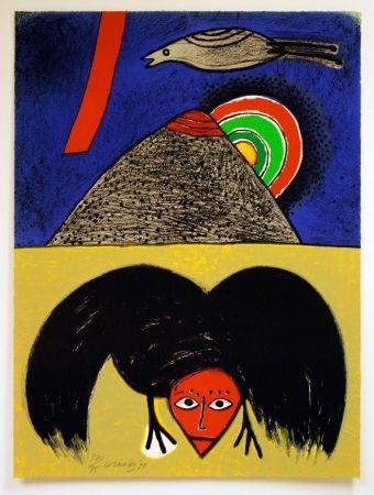 Литография Corneille - Raven no. 4