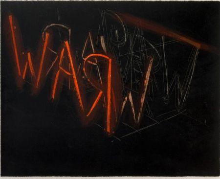 Литография Nauman - Raw War
