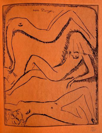 Гравюра Van Dongen - Reclining Nudes