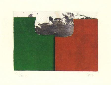 Гравюра Borrell Palazón - Records de paisatge-2