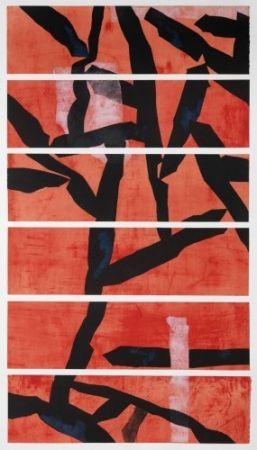 Гравюра Wang - Red
