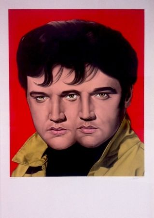 Монотип English - Red Elvis