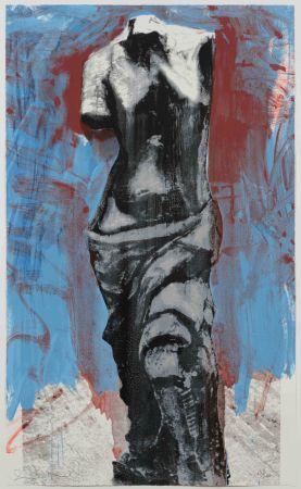 Сериграфия Dine - Red, White and Blue Venus