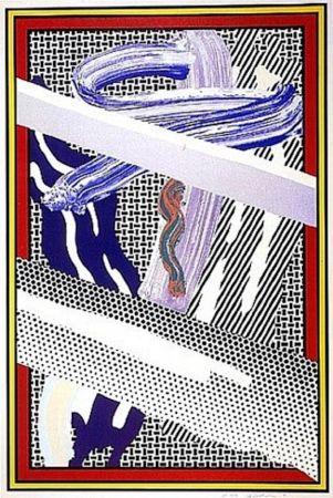 Сериграфия Lichtenstein - Reflections on an Expressionist Painting