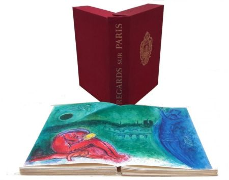 Иллюстрированная Книга Chagall - Regard sur Paris