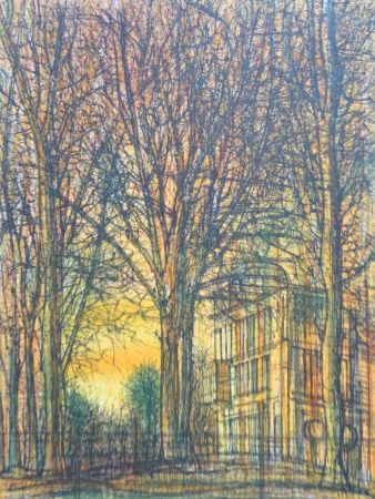 Литография Carzou - Regards sur Paris 2