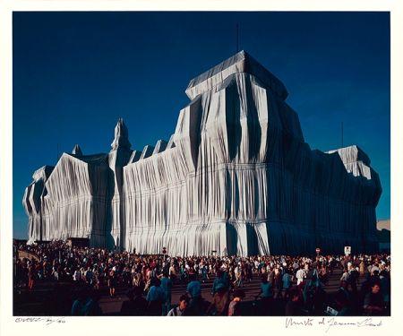 Фотографии Christo - Reichstag Mappe I, 16 Uhr