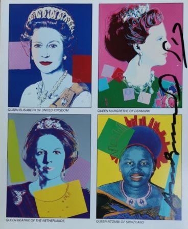 Сериграфия Warhol - Reigning Queens (invitation)