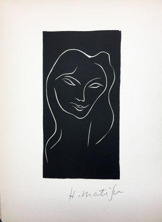 Иллюстрированная Книга Matisse - René Char : LE POÈME PULVÉRISÉ. Linogravure originale signée (1947).