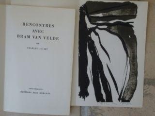 Иллюстрированная Книга Van Velde - Rencontres avec Bram Van Velde