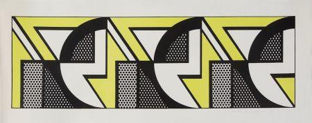Литография Lichtenstein - Repeated Design