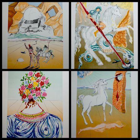 Литография Dali - Retrospective Complete Suite