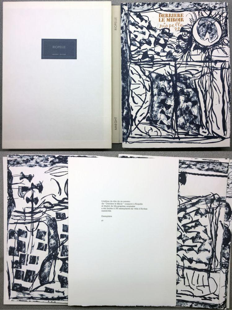 Иллюстрированная Книга Riopelle - RIOPELLE. DERRIÈRE LE MIROIR N° 232. Janvier 1979. TIRAGE DE LUXE SUR ARCHES.