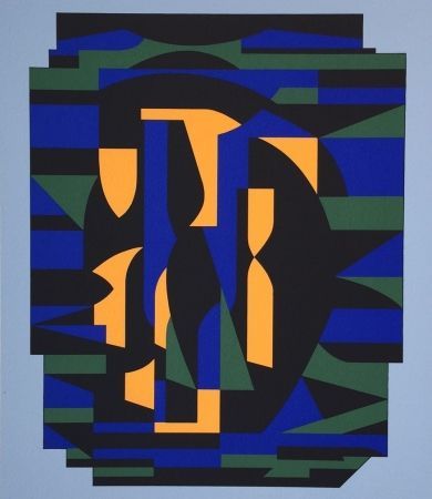 Сериграфия Vasarely - Risir, From Ion Album