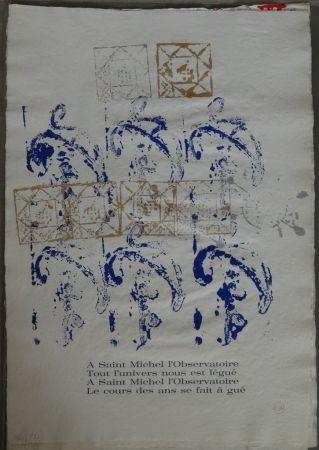 Иллюстрированная Книга Arman - Ritournelle pour Saint Michel l'Observatoire