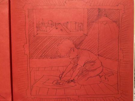 Иллюстрированная Книга Lehrer - Rocket Boy