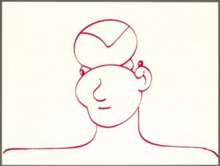 Литография Macías - Rojo 3