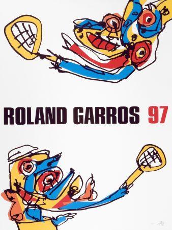 Гашение Saura - Roland Garros