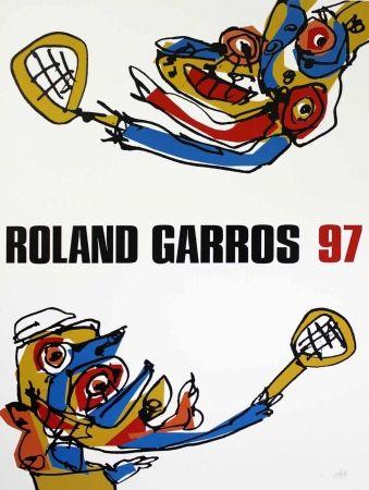 Сериграфия Saura - Roland Garros 97