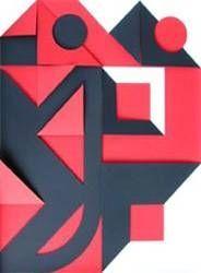 Многоэкземплярное Произведение Castellani - Rosso e nero