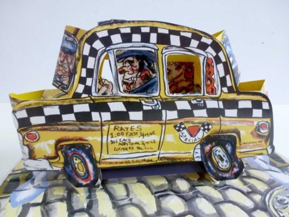 Литография Grooms - Ruckus Taxi (Mini)