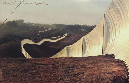Гашение Christo & Jeanne-Claude - RUNNING FENCE