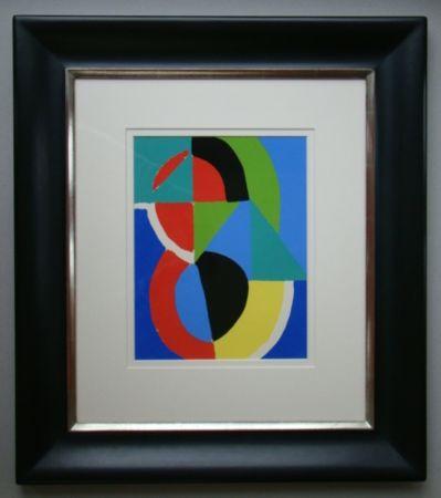 Трафарет Delaunay - Rythme couleurs
