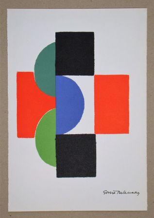 Сериграфия Delaunay - Rythme couleurs