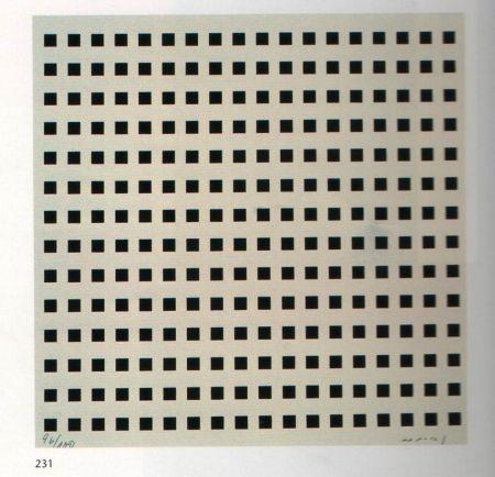 Сериграфия Nemours - Rythme du millimètre