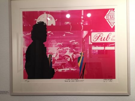 Сериграфия Fromanger - Série: Le peintre et le modèle
