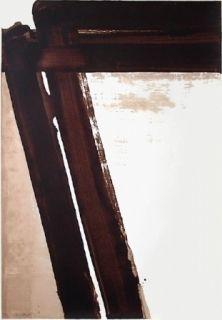 Сериграфия Soulages - Sérigraphie n°15