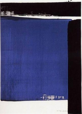 Сериграфия Soulages - Sérigraphie N°16