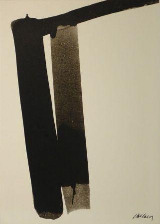 Сериграфия Soulages - Sérigraphie no 13