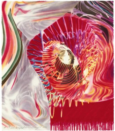 Литография Rosenquist - Sailor, Speed of Light