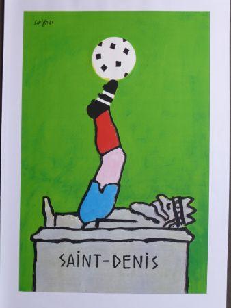 Афиша Savignac - Saint Denis (coupe du monde de football) 1998